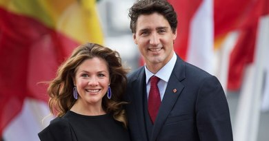 Canada Hit: Trudeau's Wife Sophie Tests Positive for Coronavirus