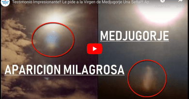 """A sign from heaven in Medjugorje allowed my conversion."" Impressive Evidence !! Pilgrim asks the Virgin of Medjugorje for a sign –  Appearance the captured in Photo (Video)"