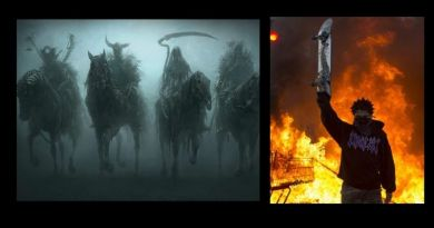 "American Carnage – Riots Across the land – Have the  'Four Horsemen of the Apocalypse""? been released"" Bible scholars claim Book of Revelation seals broken"
