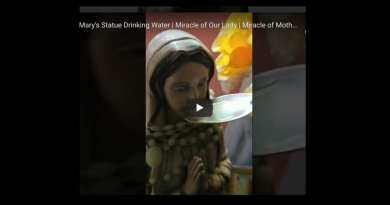 Mother Mary's Statue Drinks Water | Miracle of Mother Mary