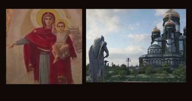 "Fatima 2.0 The new mind-blowing Russian Orthodox Cathedral is dedicated to ""Warrior Saints"" and the Military. Christianity is rising in Russia as statues of Saints and historical figures are destroyed and tossed into rivers in USA…Is it a coincidence or a prophetic sign of a coming conflict."