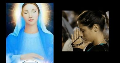 Medjugorje : Two Prayers  to Jesus and Mary  that came  from heaven dictated  by the Queen of Peace to Jelena – Pray awaiting July 25 Message