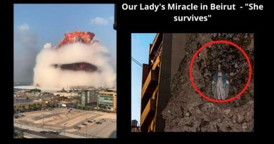 Miracle for these troubling times: The Virgin Mary survives amidst the devastation of Beirut