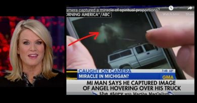 Man with Camera Captures an Angelic miracle in USA – Mainstream media reports