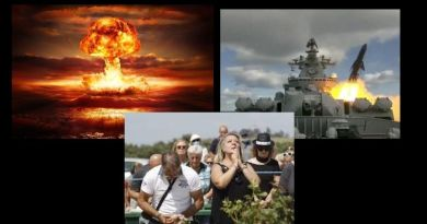 "Prophetic Signs —- Russian  navy conducts major maneuvers near Alaska …Head of Russian church says ""The end of the world is NEAR:"