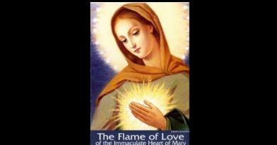 """The Flame of Love""…Jesus tells you how to blind Satan with one prayer…""This prayer is an instrument"""
