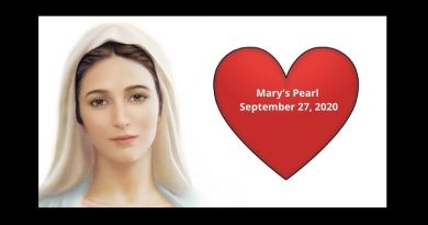 "Mary's Pearl September 27. 2020 :""I want each one of you to be happy here on earth and to be with me in Heaven. That is the purpose of my coming here and it's my desire…."" read important message"