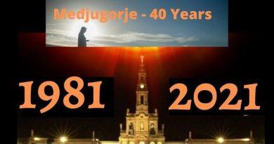 Sacred Scriptures of the Bible, Medjugorje, and the 40 Days of Warnings.