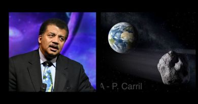 "Neil deGrasse Tyson warns asteroid – ""size of a refrigerator""  could hit Earth the day before the election at 25,000 MPH"
