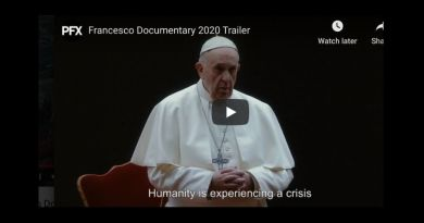 """Humanity is experiencing a crisis"" Dramatic Movie Trailer of New Pope Francis Documentary …Pope Francis takes stunning departure from the Vatican on the issue of same-sex marriages."