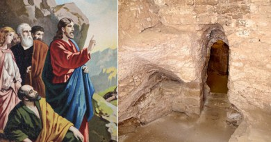 Archaeologist 'discovers childhood home of Jesus' in Nazareth