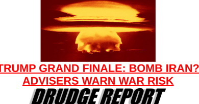 TRUMP GRAND FINALE: BOMB IRAN? ADVISERS WARN WAR RISK