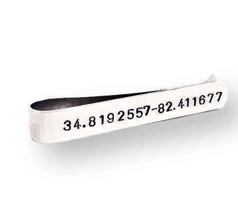 Personalized Tie Bar for Men
