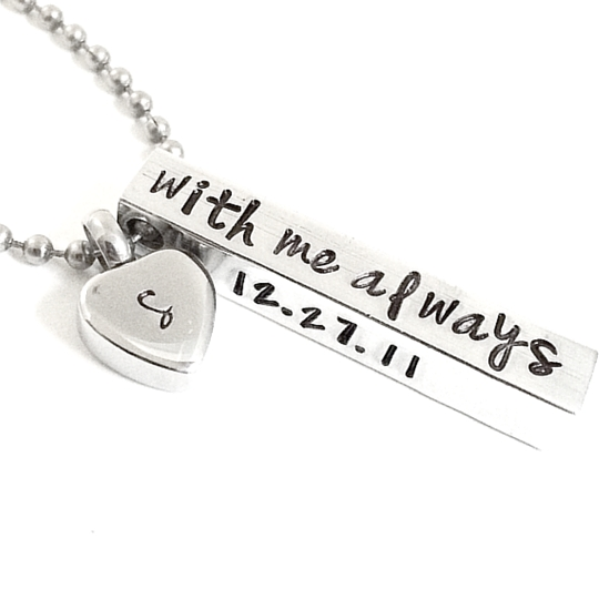 Personalized Urn Necklace For Ashes