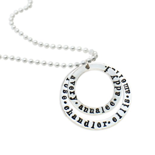 Personalized Name Necklace for Mom