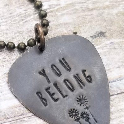 Tom Petty Wildflowers You Belong Necklace