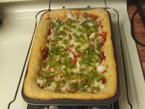 Making A Deep Dish Pizza