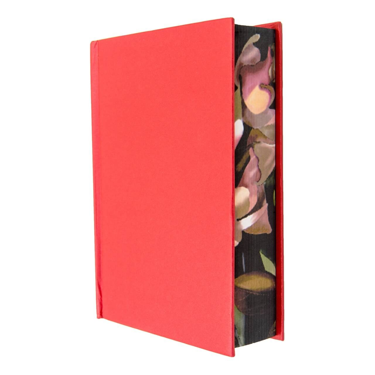 Very Thick Blank Journal Small Size A6 Floral Surrounded