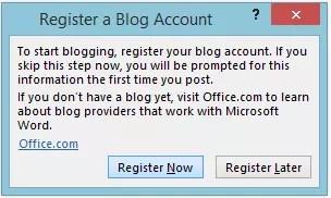 inregistrare cont blog