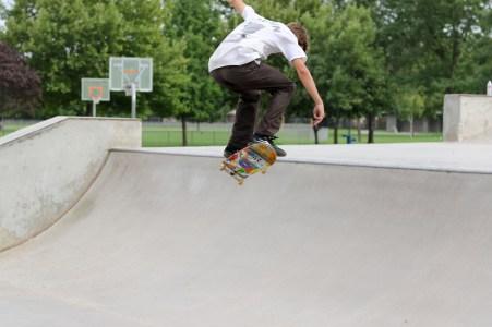 Skateboarding Park-1