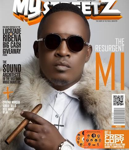 THE RESURGENT MI ON THE COVER OF MYSTREETZ MAGAZINE