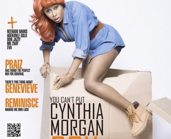CYNTHIA MORGAN COVERS MYSTREETZ MAGAZINE