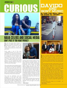 Mystreetz magazine pages