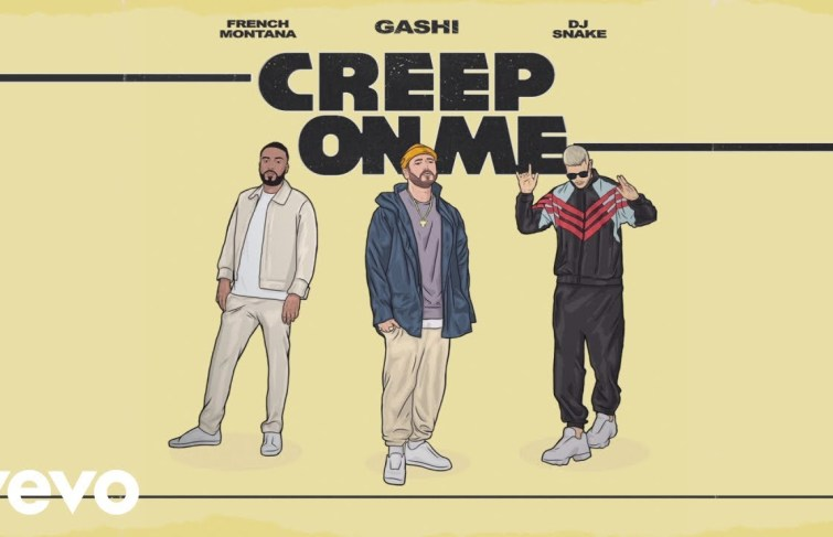 Gashi Releases 'Creep On Me' featuring French Montana and DJ Snake