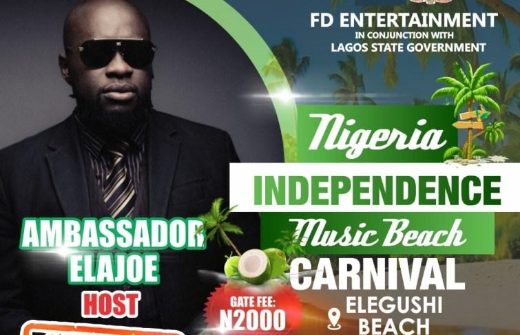 AMBASSADOR ELAJOE TO ANCHOR NIGERIA INDEPENDENCE MUSIC BEACH CARNIVAL, MARK COMPANY'S 21ST ANNIVERSARY