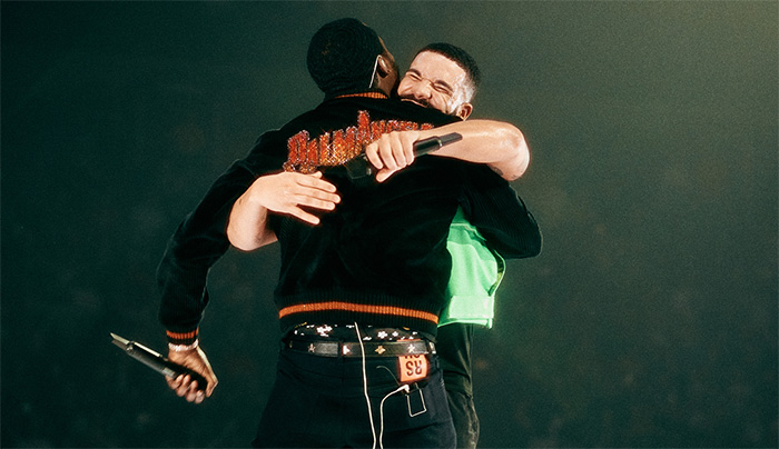 Drake and Meek Mill is the happiest Weekend Highlight