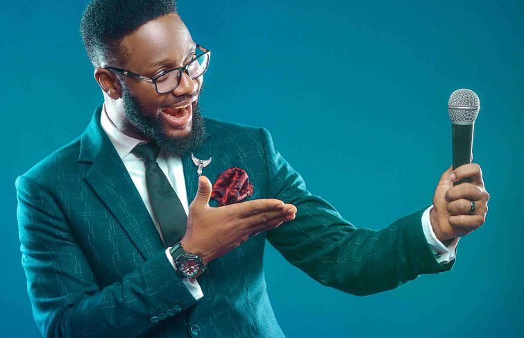 ROBERT EKPO IS THE LIFE OF THE PARTY– EVENT MC ON THE UP AND UP