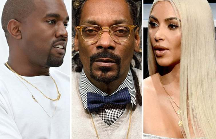 Kanye Apparently Responds to Snoop Dogg Saying Kim Kardashian and Drake Hooked Up: 'All Love'