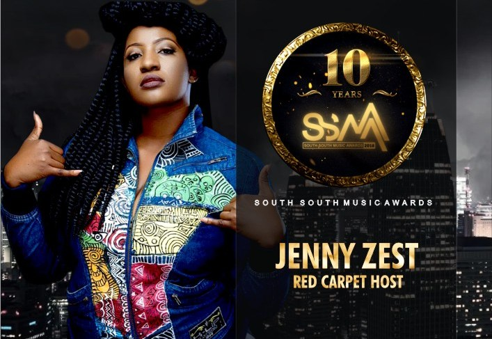 The South-South Music Awards Unveils Jeny Zest As Red Carpet Host
