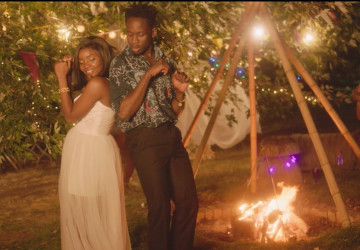 Mr Eazi Drops Video For 'Surrender' featuring Simi