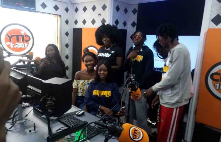 5QUAD Debuts Radio Tour On City 105.1FM