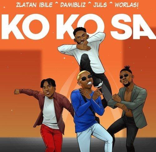 Zlatan Ibile Drops 'Kokosa' featuring Damibliz, Juls & Worlasi