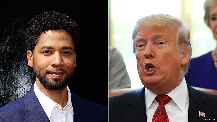 Trump Jumps In On Jussie Smollett's Case – 'An Embarrassment To The Nation'