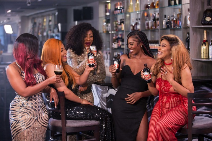 Amstel Malta Brings Tiwa Savage, Asisat Oshoala, Tonto Dike, CeeC, Kemi Adetiba, Yetunde Babaeko, And Others Together To Showcase The Power Of Women