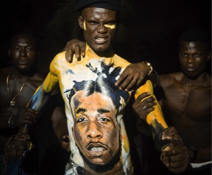 "Burna Boy's 'Freedom Body Art Painting"" By HK Locks Says Alot"