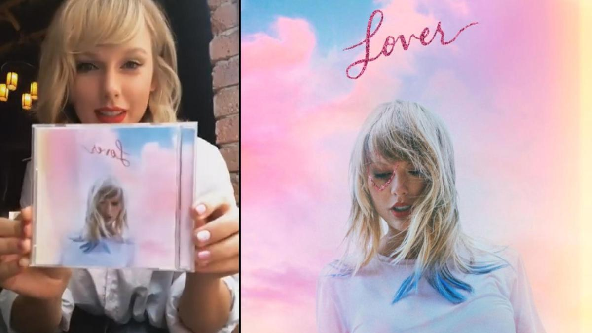 Taylor Swift Unveils Lover Album Cover And Release Date
