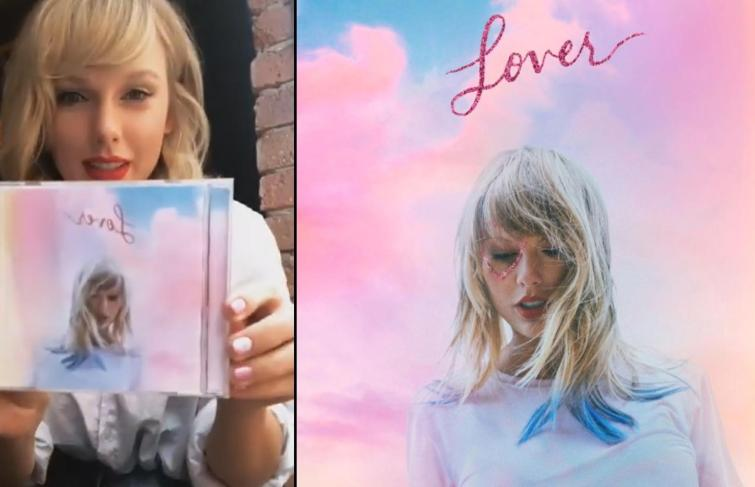 """Taylor Swift Unveils """"Lover"""" Album Cover And Release Date"""