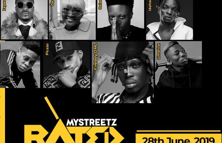 Mystreetz Rated Party To Kick-start June 28th With Performances From Fireboy DML, Oxlade, Picazo, Limerick, Okal and Jaywon