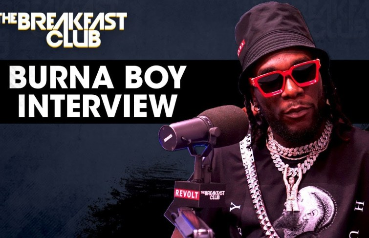 "Burna Boy on ""The Breakfast Club"""