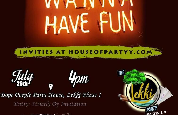 'The Lekki Party' Is This Friday