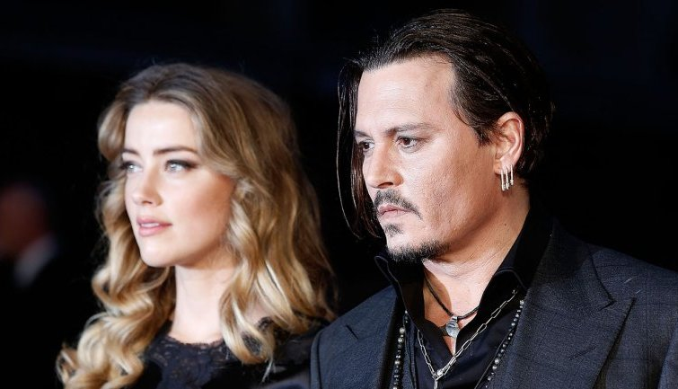 Johnny Depp Supposedly Hit in the Face With a Paint Can Thrown By Amber Heard