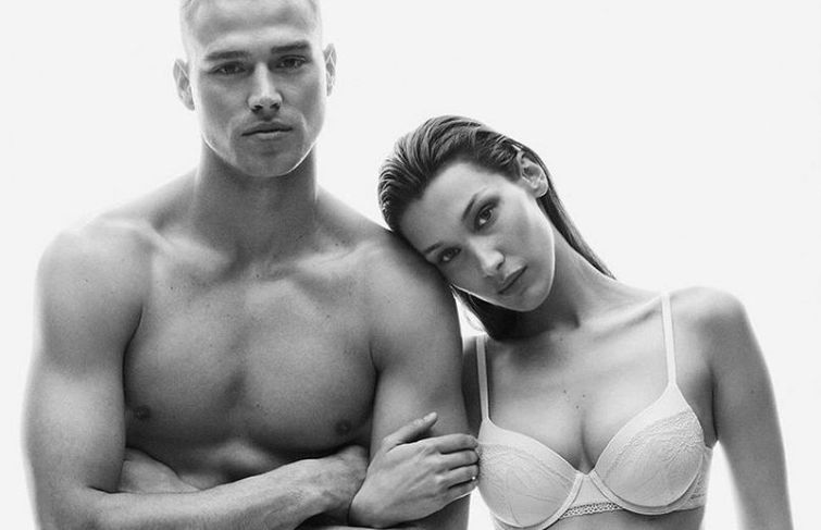 Bella Hadid In Calvin Klein Underwear Is a 'Dream Come True'