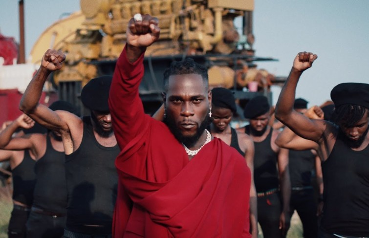 Burna Boy Releases Video For Song 'Monsters You Made' Featuring Chris Martin