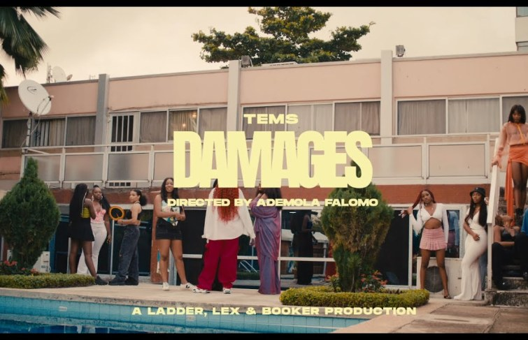 Tems Releases Video For 'Damages'