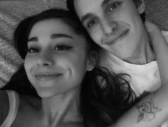 Ariana Grande Shows Off Massive Diamond Engagement Ring