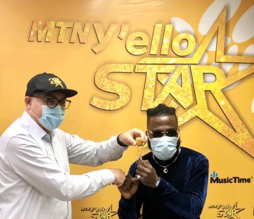 DOTTi, The Winner Of MTN Y'ello Star Receives A House